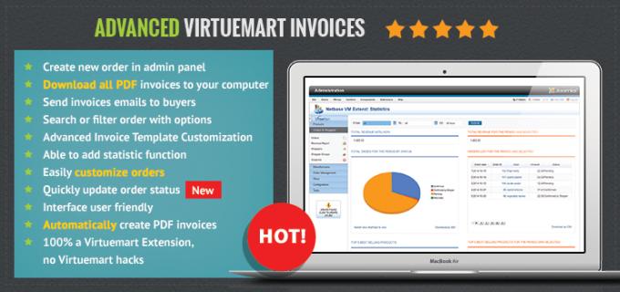 virtuemart invoice management – advancedvirtuemartinvoicesextension, Invoice templates